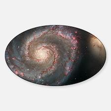 Whirlpool Galaxy Oval Decal