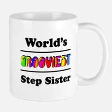 World's Grooviest Step Sister Mug