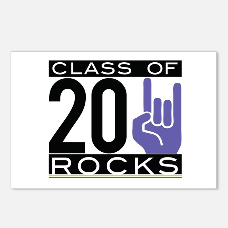 Cute Class 2011 Postcards (Package of 8)