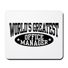 Office Manager Mousepad