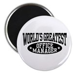 Office Manager Magnet