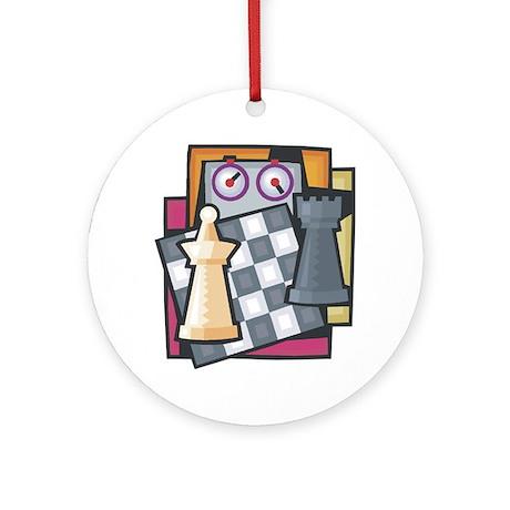 Chess Ornament (Round)