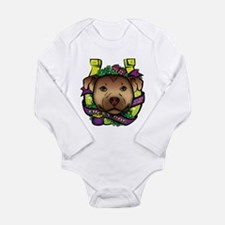 Lucky Dog Long Sleeve Infant Bodysuit
