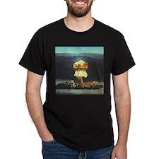 Priscilla Nuclear Test Black T-Shirt