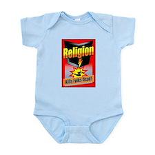 Religion: Kills Folks Dead! Infant Bodysuit