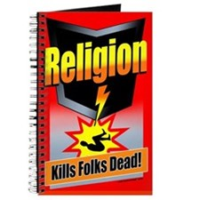 Religion: Kills Folks Dead! Journal