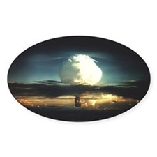 Mike Nuclear Test Oval Decal