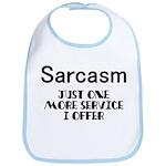 Sarcasm Offered Here Service Bib
