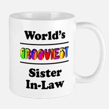 World's Grooviest Sister-In-Law Mug