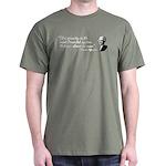 Thomas Jefferson Quote Dark T-Shirt