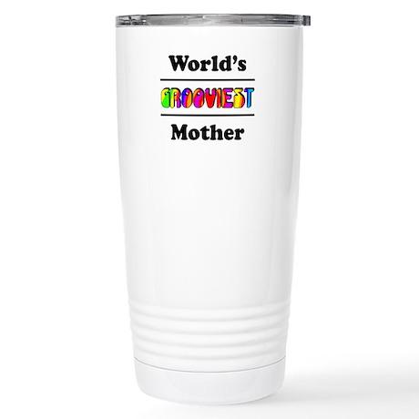 World's Grooviest Mother Stainless Steel Travel Mu