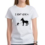 I Don't Give A Rat's Ass Women's T-Shirt