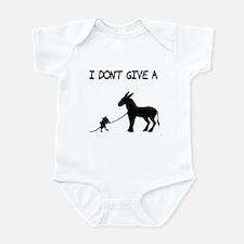 I Don't Give A Rat's Ass Infant Bodysuit
