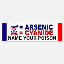 Funny Election Bumper Bumper Sticker