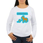 I Don't Give A Rat's Ass Women's Long Sleeve T-Shi