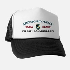 Funny Army security agency Trucker Hat