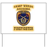 Camp Verde Fire Dept Yard Sign