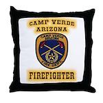 Camp Verde Fire Dept Throw Pillow