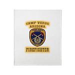 Camp Verde Fire Dept Throw Blanket