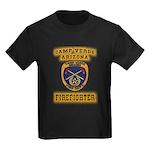 Camp Verde Fire Dept Kids Dark T-Shirt