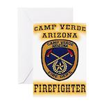 Camp Verde Fire Dept Greeting Card