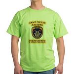 Camp Verde Fire Dept Green T-Shirt