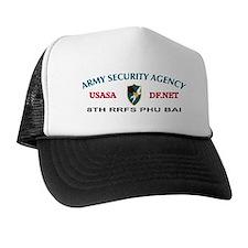 8th RRFS Phu Bai Vietnam Trucker Hat