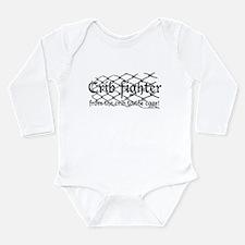 Crib Fighter Cage Long Sleeve Infant Bodysuit