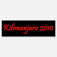 Kilimanjaro 2010 Bumper Bumper Sticker