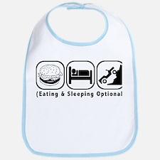 Eat Sleep Crawl Bib