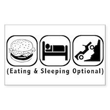 Eat Sleep Crawl Decal