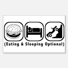 Eat Sleep Crawl Decal