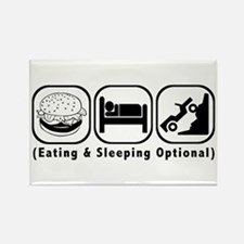 Eat Sleep Crawl Rectangle Magnet