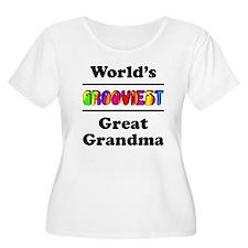 World's Grooviest Great Grandma T-Shirt