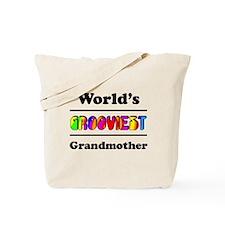 World's Grooviest Grandmother Tote Bag