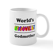 World's Grooviest Godmother Mug