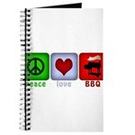 Peace Love and BBQ Journal