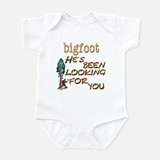 Bigfoot He's Been Looking . . Infant Bodysuit