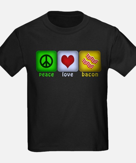 Peace Love and Bacon T