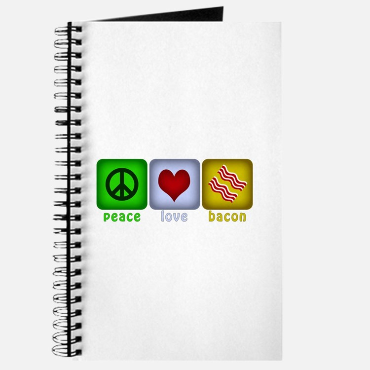 Peace Love and Bacon Journal