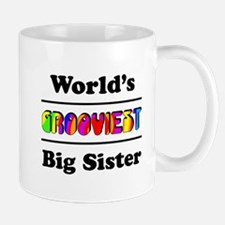 World's Grooviest Big Sister Mug