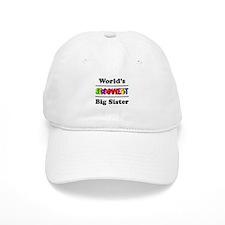 World's Grooviest Big Sister Baseball Cap