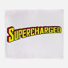 Supercharged Throw Blanket