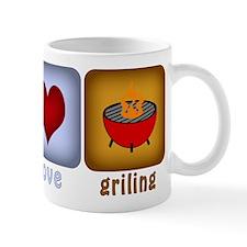 Peace Love and Grilling Mug