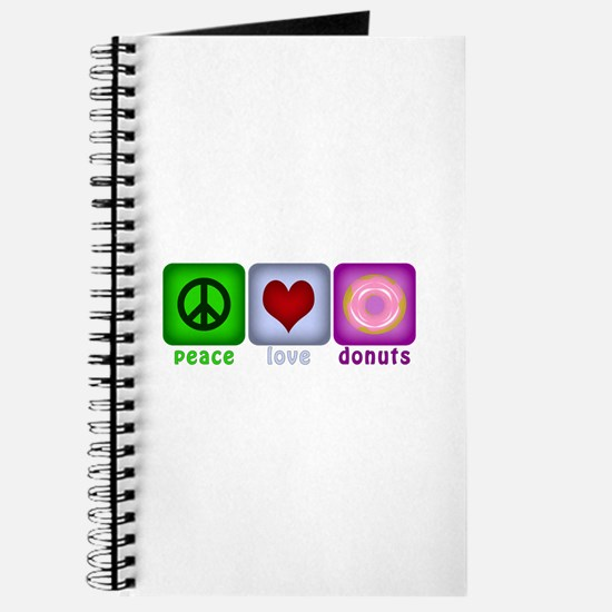 Peace Love and Donuts Journal