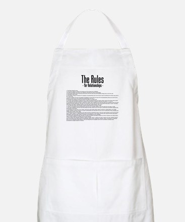 The Rules For Relationships BBQ Apron