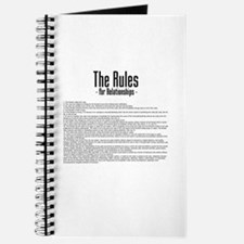 The Rules For Relationships Journal