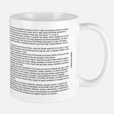 The Rules For Relationships Mug