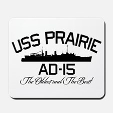 USS PRAIRIE AD-15 Mousepad
