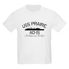 USS PRAIRIE AD-15 T-Shirt